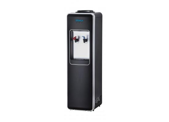 Wansa 2 Taps Floor Standing Water Dispenser ( WWD2FSBCWT2) - Black