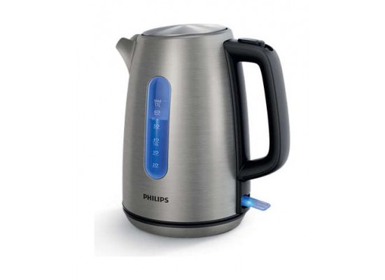 Philips 2200W 1.7L Viva Collection Kettle (HD9357/12) - Stainless Steel