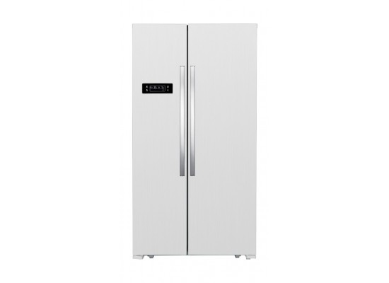 Home Elite 20 CFT Side by Side Refrigerator (HEH2-69W) - White