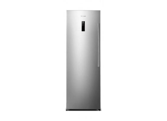 Hisense FV341N4BC1 10CFT Upright Freezer  - Stainless Steel