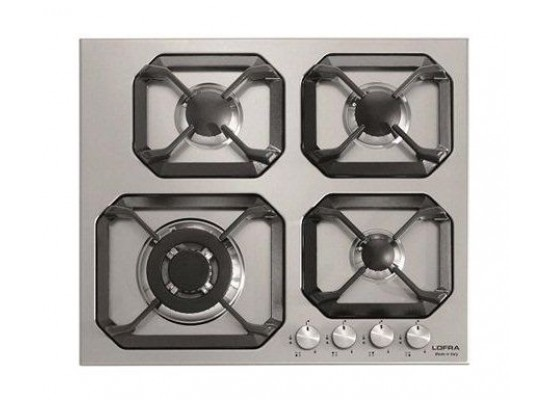 Lofra Urano 60cm 4-Burner Built-In Gas Hob (HLS 6GO/GC)