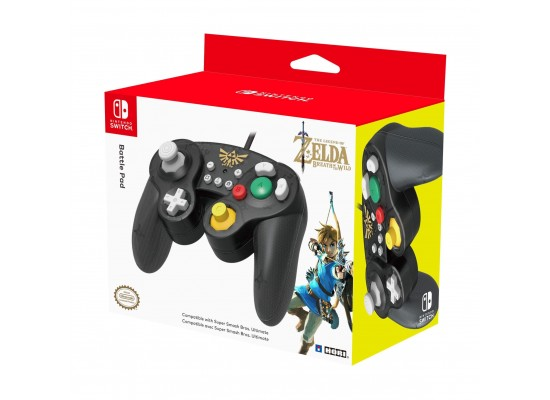 Hori Nintendo Switch: Super Smash Bros GamePad - Zelda