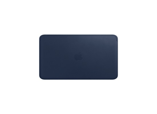 Apple Leather Sleeve for 12‑inch MacBook - Midnight Blue