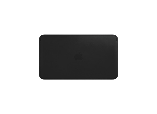 Apple Leather Sleeve for 12‑inch MacBook - Black
