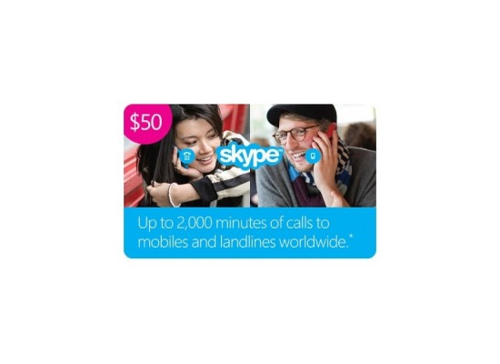 Skype Card $50