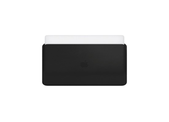 Apple Leather Sleeve for 15-inch MacBook Pro - Black
