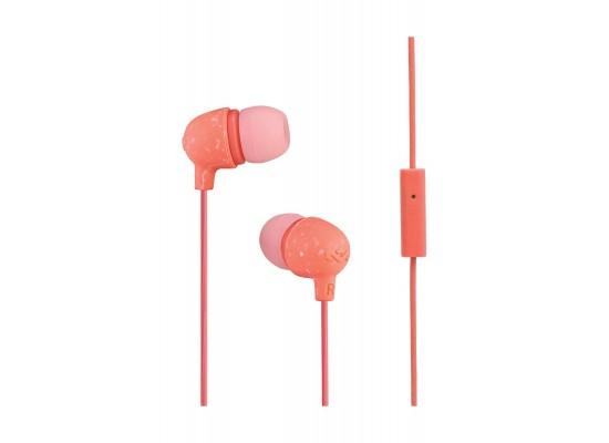 House of Marley Little Bird In-Ear Headphones - Peach