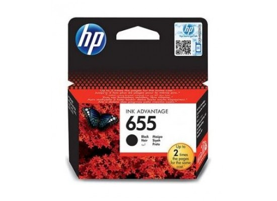 HP Ink 655 Black Ink