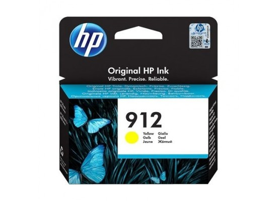 HP Ink 912 Yellow Ink