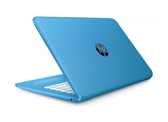 HP Stream Intel Celeron 4GB RAM 32 GB eMMC 14-inch Laptop (14-CB004NE) - Aqua Blue