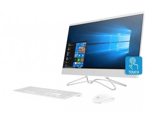"""HP 24-DP0015NE Intel Core i7 10th Gen. 16GB RAM 1TB HDD + 256GB SSD 23.8"""" All-in-One Desktop - Silver"""