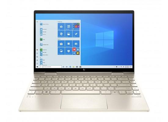 """HP Envy x360 Intel Core i7 11th Gen 8GB RAM 512GB SSD 13.3"""" Convertible Laptop - Pale Gold"""