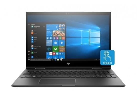HP ENVY x360  GeForce MX150 4GB 16GB RAM 512GB NVMe M.2 SSD 15-inch Convertible Laptop (15-CN0002NE) - Dark Ash Silver