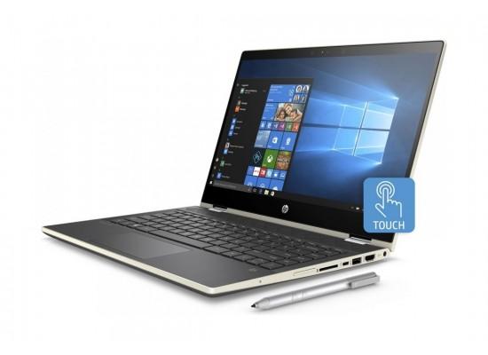 HP GeForce MX130 4GB Core i7 12GB RAM 1TB HDD + 128GB SATA 14-inch Convertible Laptop (14-CD0003NE) - Gold