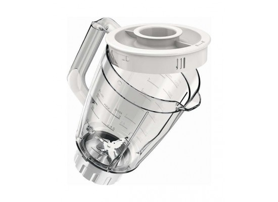Philips Daily Collection Blender Glass Jar with Mini Chopper 1.5 Litre 400 Watt HR2106/01