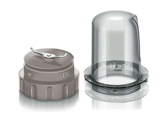 Philips Daily Collection Blender Glass Jar with Mini Chopper 1.5 Litre 400 Watt HR2106/01