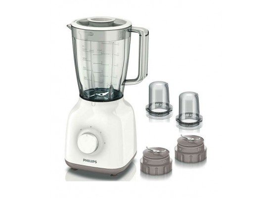 Philips Blender With 2 Sets of Mini Chopper 1.25L - 400W - HR2113/05