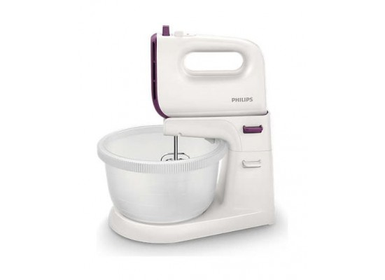 Philips 450W 3L Viva Collection Mixer (HR3745/11) – White