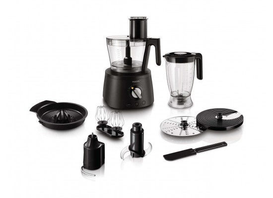 Philips Avance Collection Food Processor 1300 Watt with Bowl & Blender HR7776/91