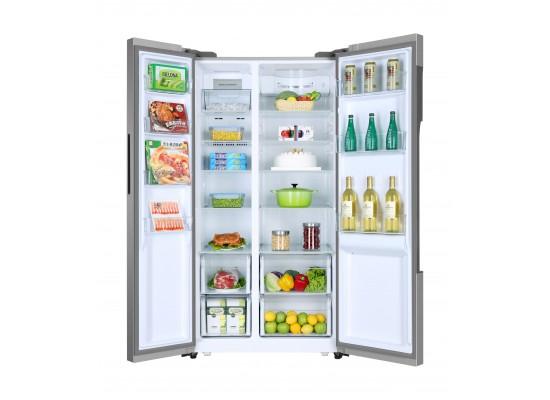 Haier 22 Cu. Ft. Side by Side Refrigerator - HRF-625SSI 1