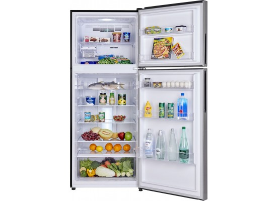 Haier 20CFT Top Mount Refrigerator (HRF-580-DS) - Silver