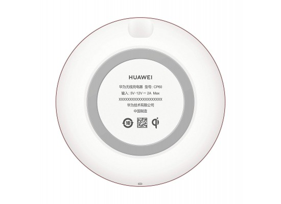 Huawei CP60 15W Type-C Wireless Charger - White