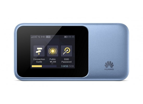 Huawei E5788u-96a 1Gbps 4G Cat 16 LTE Advanced Mobile WiFi - Blue