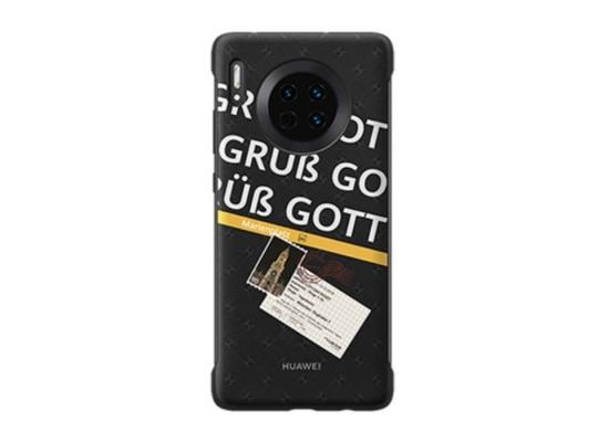 Huawei Mate 30 Pro Travel Theme Case - Munich Black