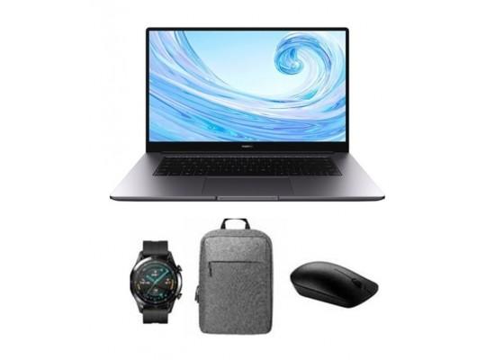 "Pre Order: Huawei Matebook D 15 Intel Cotre i5 11th Gen. 16GB RAM 512GB SSD 15.6"" Laptop - Grey"