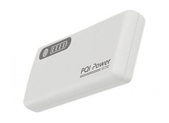PQI 16750mAH High Capacity PowerBank (6ZB241801R002A) – White