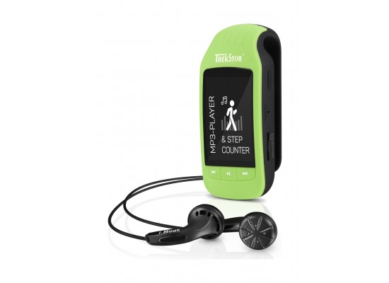 Trekstor IBEAT Jump Bluetooth 1.8-inch MP3 Player - Green/Black