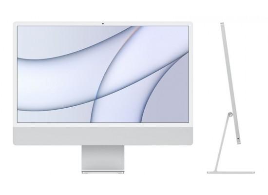 Apple iMac M1 Processor 8GB RAM 512 SSD 24-inch Touch ID 4.5K Retina Display All-In-One Desktop (2021) - Silver