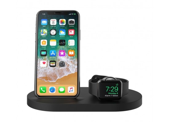 Belkin BOOST UP Wireless Charging Dock for iPhone + Apple Watch - Black 1