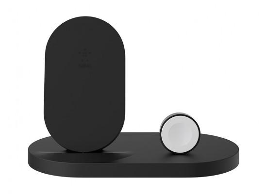 Belkin BOOST UP Wireless Charging Dock for iPhone + Apple Watch - Black 3