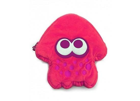 Hori Splatoon 2 Squid Plush Pouch for Nintendo Switch - Pink