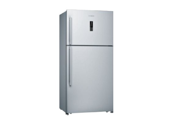 Bosch 21 CFT. Top Freezer Refrigerator (KDN75VI20M) - Inox