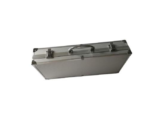 Orange BBQ Set 10 Pieces - Aluminum Box