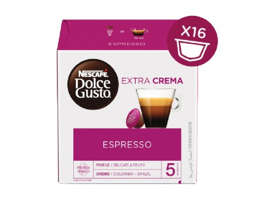 Dolce Gusto Nescafe Espresso Pods - 16 Capsules