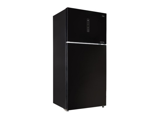 Haier 28CFT Top Mount Refrigerator (HRF-780FGPI GB) - Black