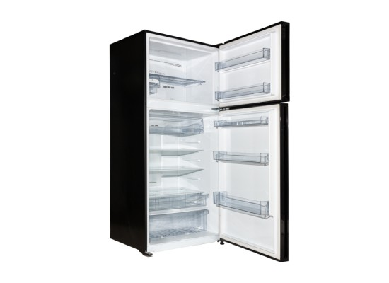 Haier 28CFT Top Mount Refrigerator (HRF-780FGPI GB) - Black