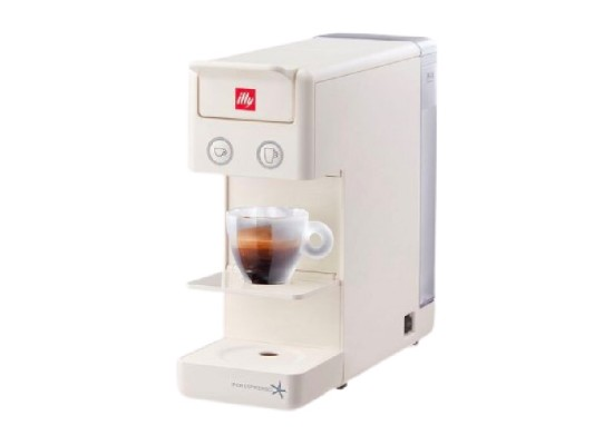 ILLY Espresso & Coffee Maker (Y3.2) -  White
