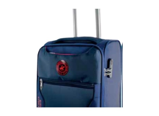 US Polo Hunter XL Soft Luggage - Navy Blue