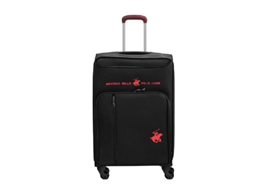 US Polo Gerardo XL Soft Luggage - Black