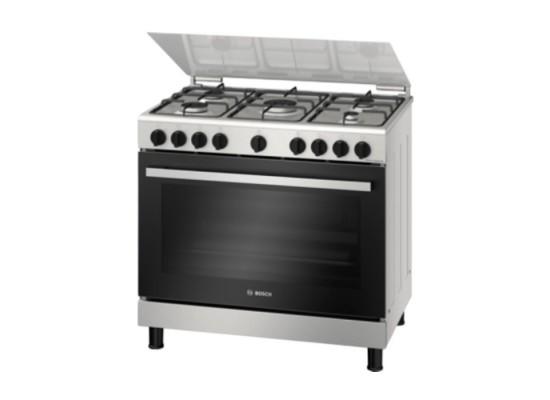 Buy Bosch 5 Burner Gas Cooker (HGV1D0V50M) in Kuwait   Buy Online – Xcite