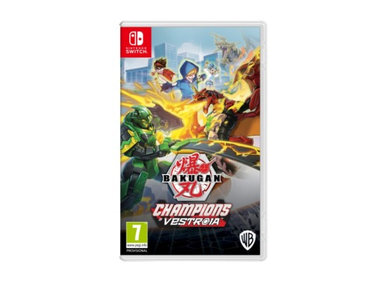 Bakugan: Champions of Vestroia - Nintendo Switch Game
