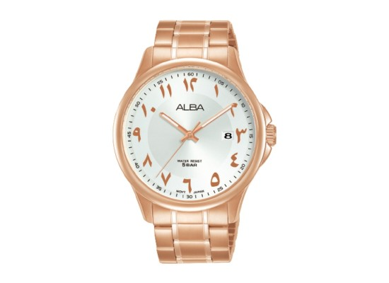 Alba 41mm Analog Gents with Arabic Index Metal Watch (AS9L70X1)