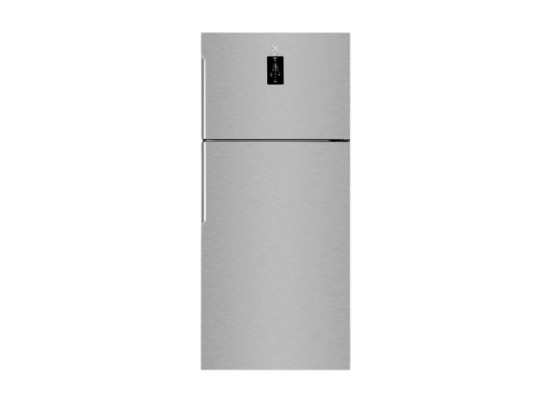 Electrolux Top Mount Refrigerator 16 CFT (EMT85610X) - Stainless Steel