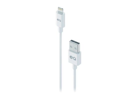 EQ Lightning Cable 2M - White