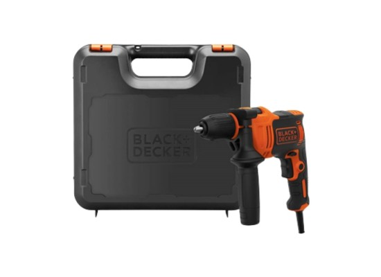 Black & Decker 13mm 710W Hammer Drill with 5 Accessories and Kit Box