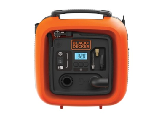 Black & Decker Air Compressor 11 Bar 12V (ASI400-XJ)